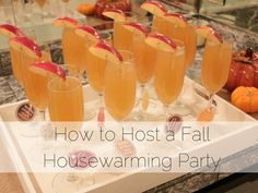 How to Host a Fall Housewarming Party
