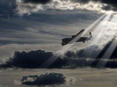 Classic shot of Avro Lancaster