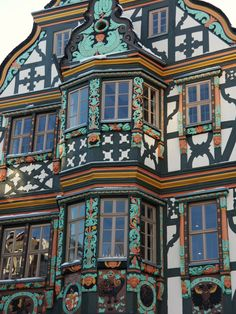 Killingerhaus in Idstein in Deutschland - Travel and Extra German Architecture, Historical Architecture, Beautiful Architecture, Beautiful Buildings, Ancient Architecture, Beautiful World, Beautiful Places, Pictures Of Germany, German Houses
