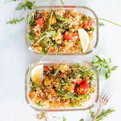 Roast Vegetable and Bulgar Wheat Salad
