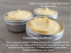 Caffeine Under Eye Cream for Dark Circles Bags Wrinkles Organic Under Eye Cream Anti Aging Eye Cream, Dark Circles Brightening Rosehip Cream Eye Cream For Dark Circles, Face Cream For Wrinkles, Dry Face, Anti Aging Eye Cream, Vitamins For Skin, Antioxidant Vitamins, Rosehip Oil, Natural Cosmetics, The Fresh