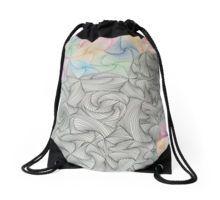 Abstract Hand Drawn Paradox Pattern Drawstring Bag