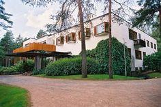 Villa Mairea, Alvar Aalto, Noormarkku, Finland. 1938