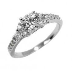 Luxusní stříbrný prsten se zirkony Swarovski za přijatelnou cenu!