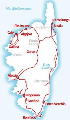 1000 km - Tour (quasi) completo della Corsica