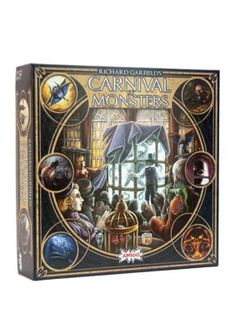 Amigo Richard Garfield's Carnival of Monsters Strategy Game Sec Games, Building Games, Strategy Games, The Gathering, Hunters, Board Games, Beast, Exotic, Carnival