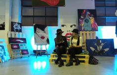 itsfuntobehappy #EVENT #FASHION Welcome to The_exhibition with Emanuela Stagni paints