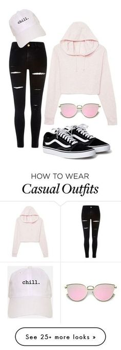 """Casual"" by jenna-f-andrews on Polyvore featuring River Island"