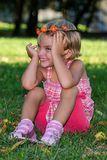 Sneak Peek Girl Stock Photo - Image: 59026046