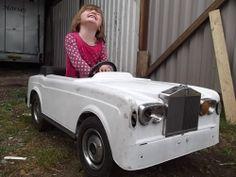 Rolls royce pedal car for restoration barn find corniche 1980's - http://www.ebay.co.uk/itm/171307575463?clk_rvr_id=623171535725