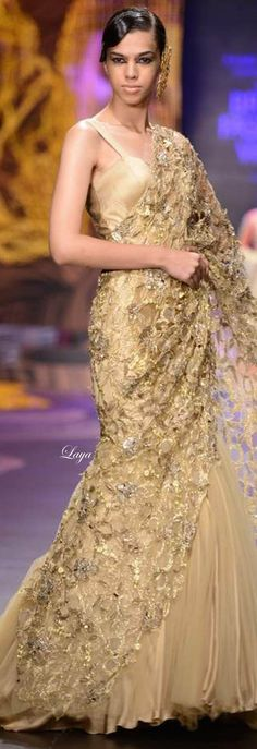Gaurav Gupta Indian Bridal Week Nov 2013❋Laya