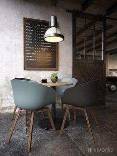 mesa, cadeiras e luz