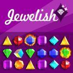Jewelish è un classico gioco Match3 per ogni età. Scambia tessere adiacenti per fare file di almeno 3 gioielli dello stesso colore e rimuoverli dal campo. combinazioni più grandi vi darà gioielli speciali e punti bonus. Che punteggio più alto si può raggiungere prima che il tempo è scaduto?