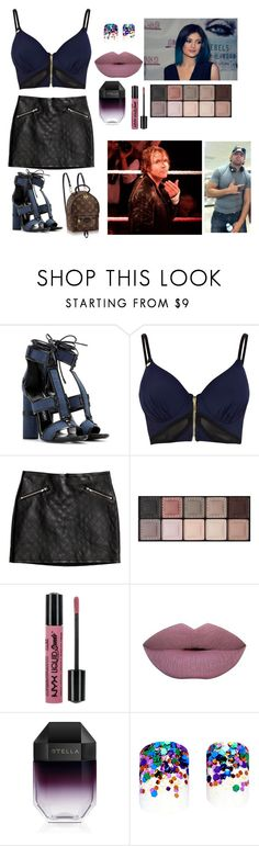 """""""On My Way!"""" by h3llokittyland ❤ liked on Polyvore featuring Tom Ford, Pacha, H&M, By Terry, NYX, STELLA McCARTNEY, Louis Vuitton, Static Nails, women's clothing and women"""