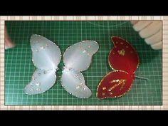 Tutorial Hada de la Navidad: Materiales, coser piezas y rellenar - YouTube