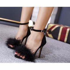 3599207090b2fd sandal shoe stores Picture - More Detailed Picture about Women Summer Shoes  gladiator High Heel Sandals 2017 Fashion Fur thin heels Sandlias women  Sandals ...