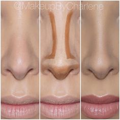 "Lilly Ghalichi on Instagram: ""Nose contour by @makeupbycharlene #GhalichiGlam…"