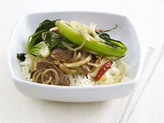 Spicy Beef Stir-Fry Recipe - #healthy