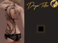 Dragon Tattoo - Murphy Sims