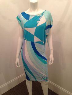 Click to Shop - EMILIO PUCCI SILK JERSEY PRINT DRESS, SIZE 8