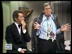 "Paul Lynde drops in on Dean Martin - 1970Dean was a helluva straight man... Forty years ago, the censor would bleep out any overly-suggestive words with a cukoo sound or a bleep. Anytime Paul sauntered onto Dean's show for a little campy fun, I'm sure the network was on full guard - and there's plenty of subtext going on in this clip... If you care to know, the censored word is ""piece"""