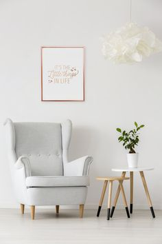 Tout Est Possible Print Rose Gold Print by LovelyPosters on Etsy Décoration Rose Gold, Rose Gold Wall Art, Or Rose, Bedroom Couch, Bedroom Decor, Bedroom Prints, Kitchen Poster, French Typography, Quote Typography