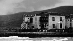 Puerto de la Cruz – 1931. Casa de la Real Aduana. [Detalle de fotografía en B/N, de Antonio Passaporte,