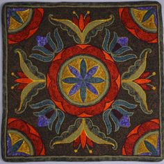 ANNNE'S HOOKED RUGS - COMMERCIAL DESIGNS -  VISIONS OF EWE