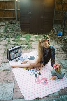 photography adam peter hicks  styling david metto   volt cafe mag Dolores Haze, Picnic Blanket, Outdoor Blanket, Cafe House, Live Wire, Lace Socks, How To Take Photos, Cool Kids, Baby Dolls