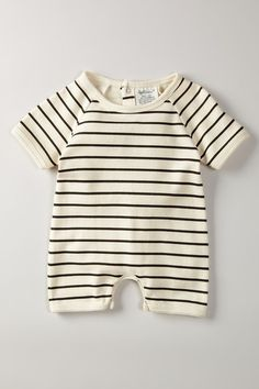 SoftBaby Organic Cotton Short Sleeve Romper
