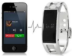 Bluetooth Smartband Metal Smart Wrist Bracelet for Android Smart Phones Photo 3 Smart Bracelet, Bracelet Watch, Wearable Device, Apple Watch, Smart Watch, Bluetooth, Smartphone, Watches, Metal