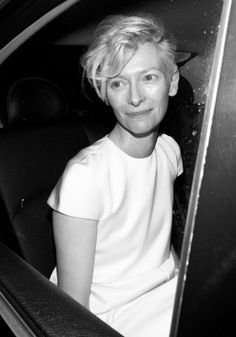 Tilda Swinton.                                                                                                                                                     More