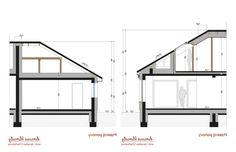 Project of a one-storey house with a garage. Modern Bungalow House Plans, Modern Family House, Bungalow Floor Plans, One Storey House, House Plans Mansion, House Design Pictures, Big Houses, Architecture Design, House 2