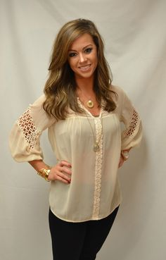 The Willow Tree - Go-To Top, $46.95 (http://willow-tree.mybigcommerce.com/go-to-top/)