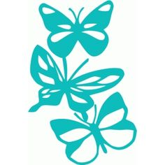Silhouette Design Store - Search Designs : FLOWERS AND BUTTERFLIES
