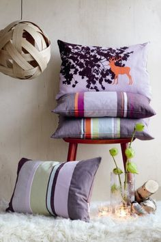Obliečka na vankúš Lilac Lilac, Throw Pillows, Living Room, Home, Accessories, Toss Pillows, Cushions, Ad Home, Syringa Vulgaris
