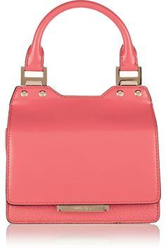 Jimmy Choo Amie small leather tote handbag | Designer Handbags @ http://www.CuteHandbags.NET