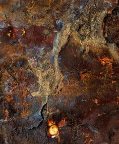 what amazing colors occur in rust.....