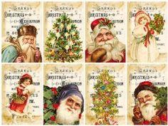 weihnachtskarten vintage - Buscar con Google