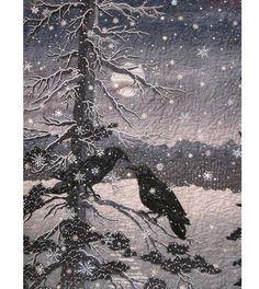 Зима — не менее вдохновляющее время года, чем осень или весна. Хотя это время не располагает таким уж разнообразием красок, но она восхищает контрастами, графичностью, строгостью и изяществом линий. И я хочу поделиться найденными мной работами мастеров, вдохновленных зимой. Техники самые разные. Я также включила работы с очень интересными фактурами, имитирующими снег под лучами солнца, треснувший лед, изморозь на стеклах, замерзшую реку.
