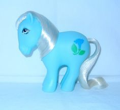 EXTREMELY RARE Alternate Birth Flower Pony September / Morning Glory [MLP My Little Pony G1 Hasbro]