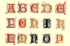 On the Creative Market Blog - Inspiring Examples of Decorative Vintage Lettering