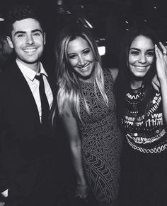 Zac Efron, Ashley Tisdale & Vanessa Hudgens