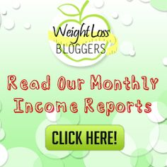 Read our income reports and discover how we are making money on our weight loss blog #blogincomereports #incomereports #blogincome