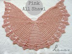 Pink All Shawl (Lanas & Hilos)