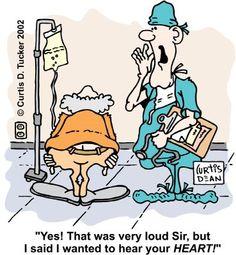 Cartoons About Caregiving | Heart Surgery Cartoon - Drawing About Heart Surgery & Flatulence