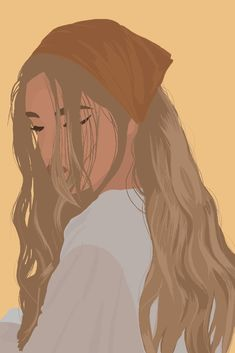 Detailed Vector Illustration Mode, Portrait Illustration, Design Illustrations, Illustration Simple, Frida Art, Abstract Face Art, Digital Art Girl, Cartoon Art Styles, Couple Art