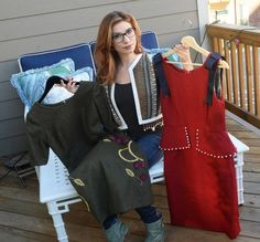 AUBREY BUSEK: Women's apparel, from day to evening to lingerie.