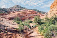 Hiking to The Vortex aka The Bowl near St George Utah