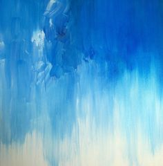 "'BLUES ' by K. Rishay Moehr | $250 | 30""w x 30""h | Original Art | http://www.arttwo50.com/buy/art/blues"